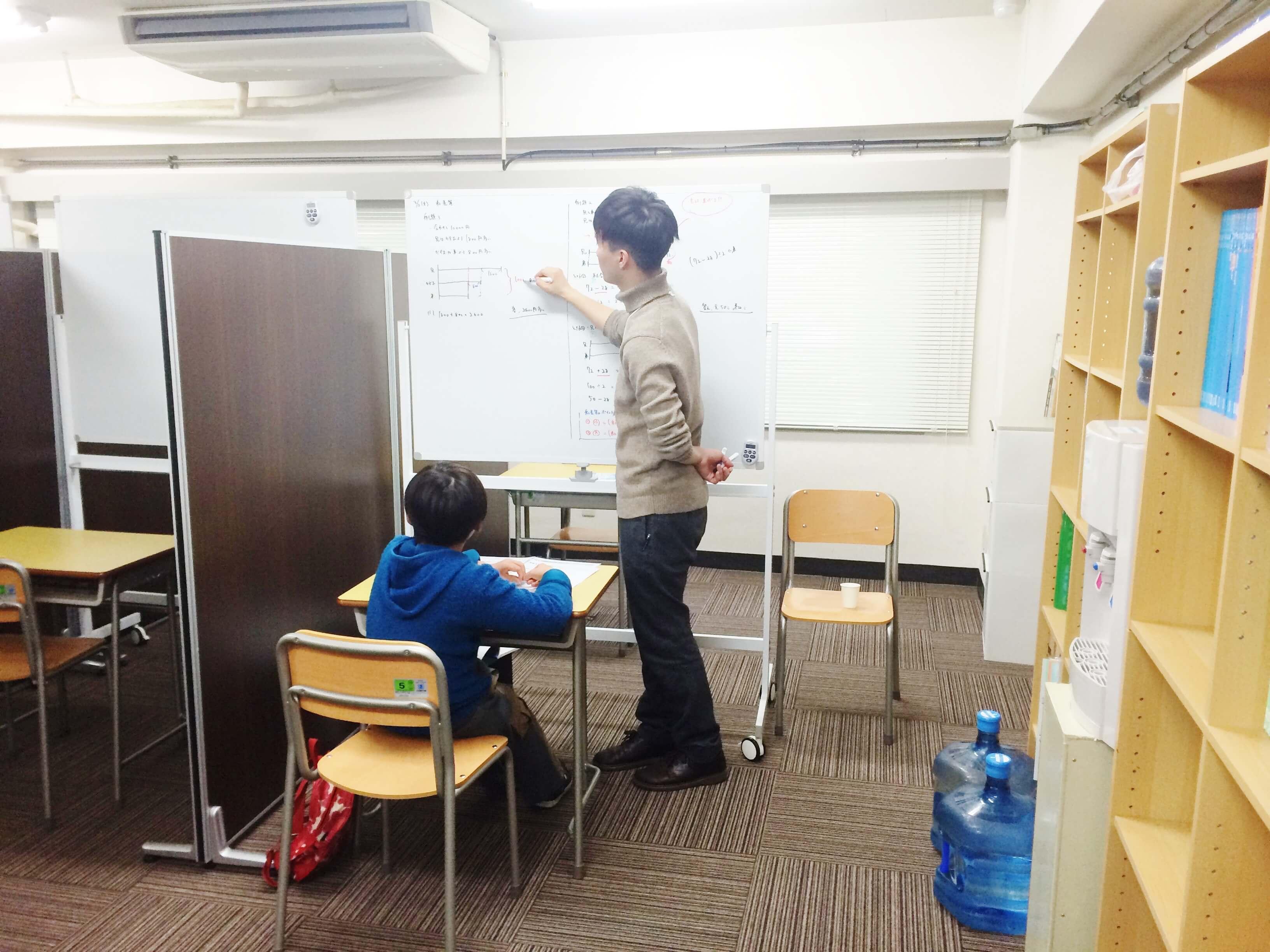 TESTEAでは入塾前に体験授業をご受講いただけます
