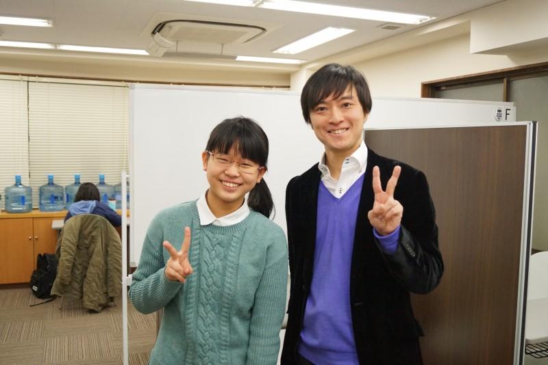滝口穂高さん(女子学院中進学)