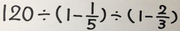 【TESTEA自由が丘校】その計算式の意味は?