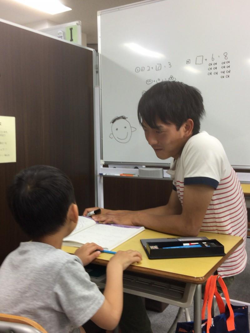 個別指導の授業風景